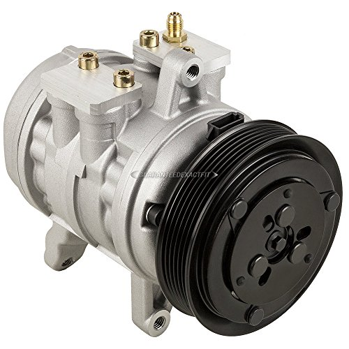 (AC Compressor & A/C Clutch For Ford Mustang Escort EXP Fiesta LTD Thunderbird Mercury Capri Cougar Marquis Monarch - BuyAutoParts 60-01025NA New)