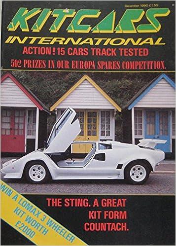 Kitcars International Magazine Featuring ABS Scorpion - Xanthos sports cars