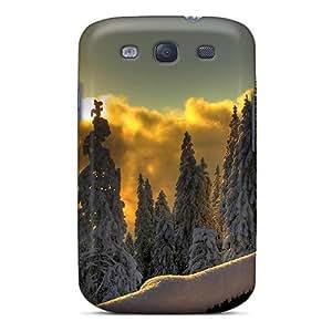 [foBiNMg5844KiMJJ]premium Phone Case For Galaxy S3/ Beautiful Winterscape Tpu Case Cover