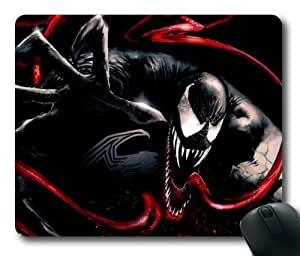Venom Spiderman Movie 003 Rectangle Mouse Pad by eeMuse