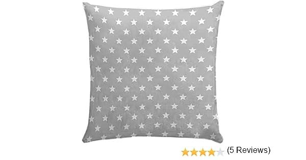 Martina Home Funda cojín Candy Star Medida: 60x60 cm. Gris - Sedalinne