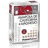Amapola De California+Magnesio Microesferas 30 Capsulas de Prisma Natural