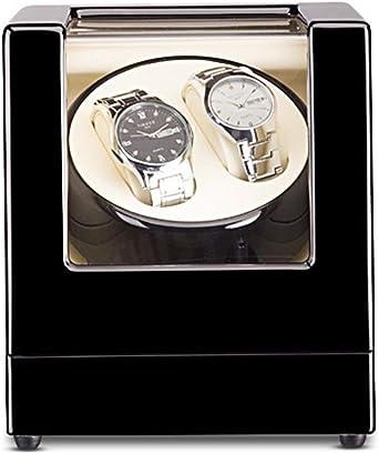 QLL Robot Gira-Reloj para Reloj Automático, 2 Reloj de Pulsera,5 Modos de Rotación,Caja Giratoria para Reloj (Color : Negro-18x18x20cm): Amazon.es: Relojes