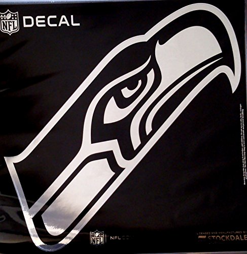 Nfl Football Emblem - Stockdale Seattle Seahawks Large 12