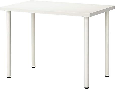 IKEA LINNMON/ADILS - Mesa (100 x 60 cm), color blanco: Amazon.es ...