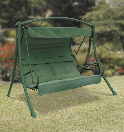 Amazon.com: Suntime gf02565 Sevilla Acero de 3 plazas Swing ...