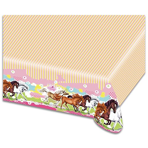 HC-Handel Charming Horses Children Tablecloth Tablecover Wipe Clean... by HC-Handel