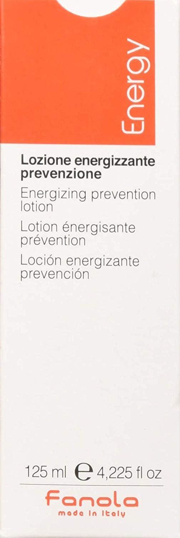 Fanola Locion de Prevencion Energizante–Contra Caída del Cabello, 125ml