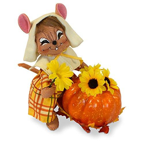 Annalee 6in Pilgrim Girl Mouse