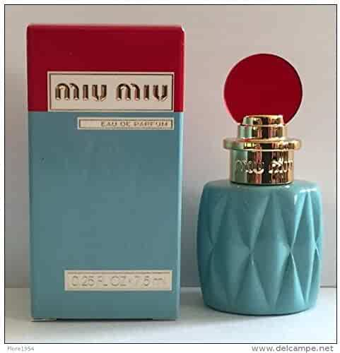 Miu Miu Eau De Parfume Travel Size Miniture .25 Fl Oz / 7.5 Ml