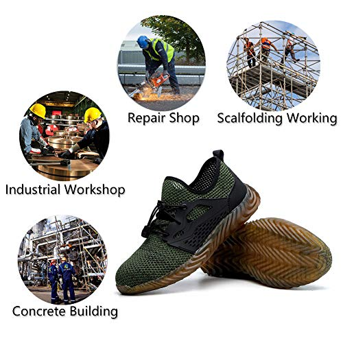 92fa8f5281399 SHOPUS | TQGOLD Safety Shoes for Men Steel Toe, Work Shoes for Men ...