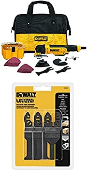 Dewalt 3 Amp Oscillating Multi-Tool Kit + 3-Pc. Oscillating Set