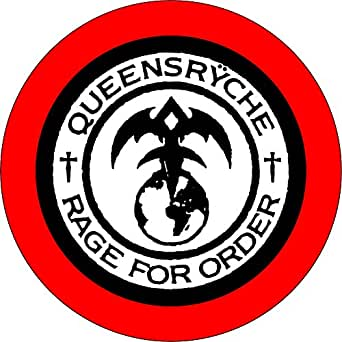Amazon.com: Queensryche - Rage for Order Logo - 1.25