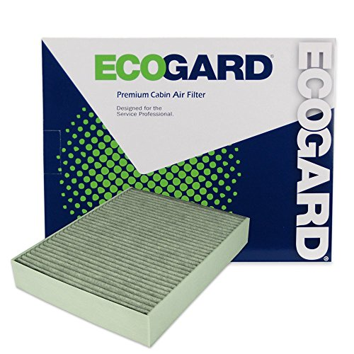 ECOGARD XC10010C Cabin Air Filter with Activated Carbon Odor Eliminator - Premium Replacement Fits BMW 3-Series, 4-Series