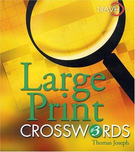 image relating to Thomas Joseph Crossword Printable called Massive Print Crosswords #3: Thomas Joseph: 9781402712371