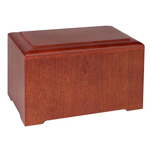 Wood Cremation Urn - Cherry Marquis