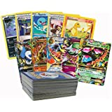 DELITE Toy Dreams Random Pack Of 20 Pokemon Trading Game Fun Playing Cards XY Series Evolutions With + 1 Mini Toy Figure