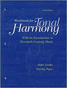 Student Workbook and CD for use with Tonal Harmony: Stefan ...