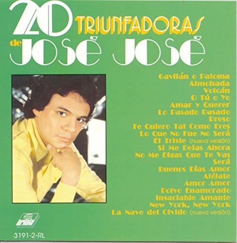 20 Triunfadoras De Jose Jose