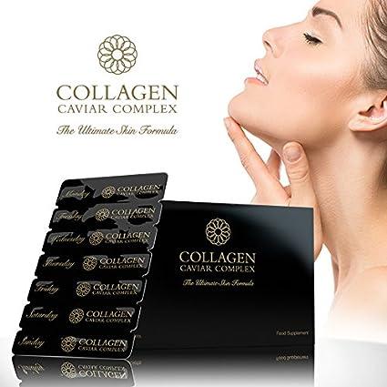 Premium Colágeno (1000mg) , CAVIAR (1400mg) Complejo - Cuidado de piel NUTRICIÓN