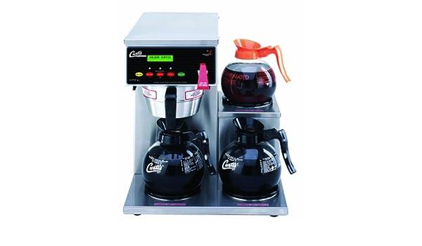 Wilbur Curtis G3 Alpha Máquina de café, 1,89 litros, 1 módulo, 1 calentador inferior: Amazon.es: Industria, empresas y ciencia