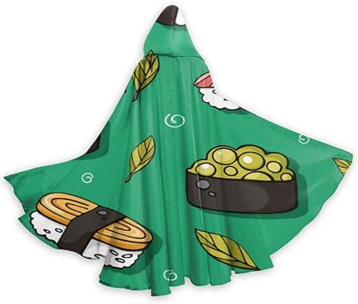N\A Kqwaii Colorido pequeño Gordo Capa de Capa de Sushi niños ...