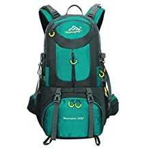 50L Waterproof Backpack for Men Hiking Snowboarding Camping Backpack Travel Casual Daypack - Great for Camping Accessories (Green S, 52*30*18cm/20.4*11.8*7inch)