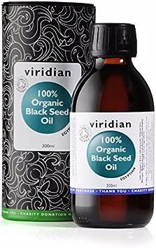 Viridian Aceite Comino Negro Bio - 200 ml