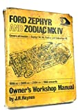 Ford Zephyr and Zodiac MK IV Owners Workshop Manual