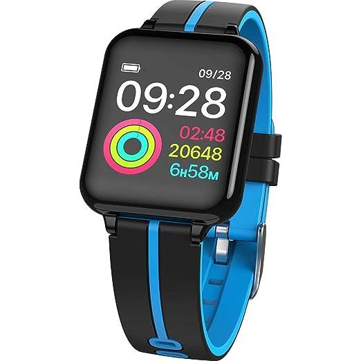 iStary Pulsera Inteligente Relojes Deportivos SmartBand Bluetooth SmartWatch Paso Contador Monitoreo De La Frecuencia Cardíaca Información Recordatorio ...