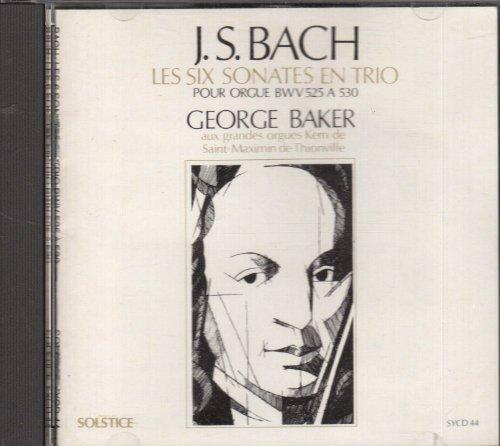 J.s. Bach: Les Six Sonates En Trio BWV V525 a - Ma Solstice