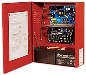 Altronix AL602ULADA - Fuente de alimentación (115 V, 60 Hz, 24 V, Rojo, 5 kg, 311 mm)
