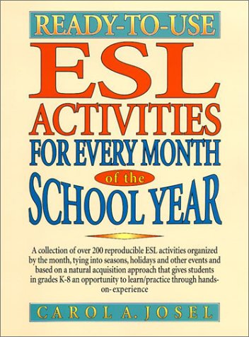Workbook esl worksheets for adults : Ready-to-Use ESL Activities for Every Month of the School Year ...