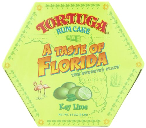 Tortuga 'A Taste of Florida' Key Lime Rum Cake, 16-Ounce (Key Lime Rum)