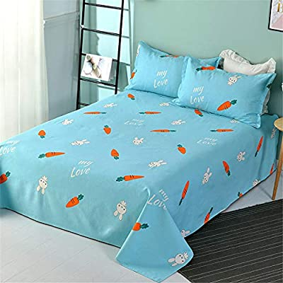 CDML Sábanas de Cama Algodón Grueso Viejo sábanas de Tela Gruesa Lienzo de algodón Lino Sola Pieza Individual Doble -220 * 230 cm: Amazon.es: Hogar