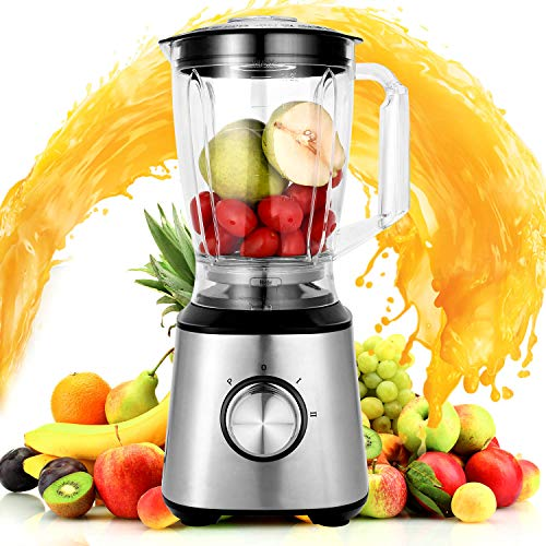 Jinguio High Speed Vacuum Blender,Multifunctional Food Processor and Smoothie Blender, Fruit Vegetable Shakes and Frozen Drinks