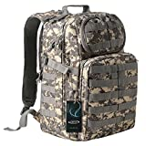 Tactical Backpack - G4Free Multipurpose Tactical BackPack Large Camping Hiking Shoulder Pack 40L (ACU Camouflage)