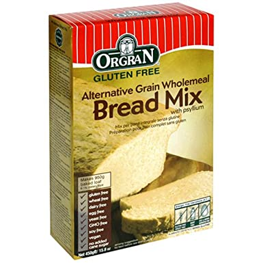 Orgran Gluten Free Alternative Grain Wholemeal Bread Mix 450g