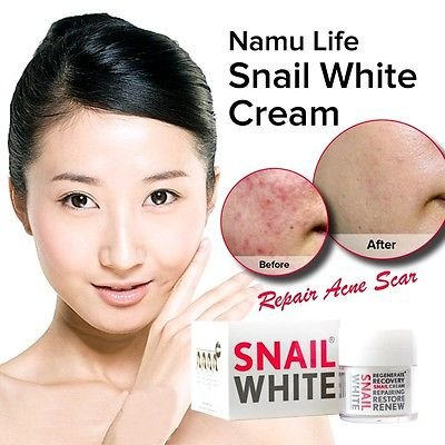 NAMU LIFE SNAILWHITE FACIAL CREAM 50 ml.