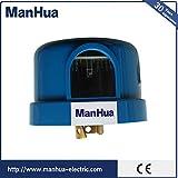 Manhua Twist Lock Light Sensor with Photocell, Outdoor Twist Lock Photocell Light Sensor, UL Listed