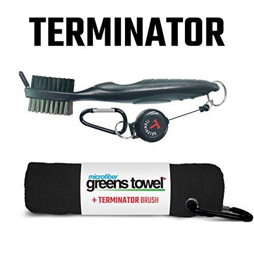 Clip Wipes Greens Towel Plus Terminator Brush Black