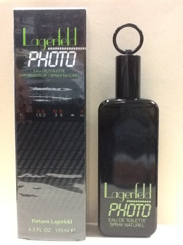 (LAGERFELD PHOTO BY LAGERFELD 4.2 oz / 125 ml E.D.T SPRAY FOR MEN CLASSIC)