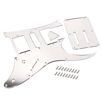 Sharplace Placa Tapa de Pickguard Alma Truss Rod Cover para Ibanez RG 350 550 HSH Accesorio de Guitarra Eléctrica: Amazon.es: Instrumentos musicales
