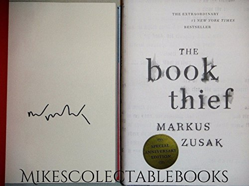 The Book Thief by Markus Zusak (10th Anniversary Edition) SIGNED COPY