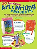 img - for 20 Sensational Art & Writing Projects book / textbook / text book