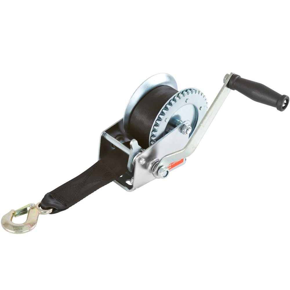 Discount Ramps 1,200 lb. Boat Trailer Hand-Crank Marine Winch by Discount Ramps