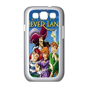 Samsung Galaxy S3 9300 Cell Phone Case White Return to Never Land Phone Case Cover Hard Design CZOIEQWMXN1428