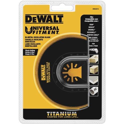 DEWALT Dwa4213 Oscillating Titanium Flush Cut ()