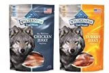 Blue Buffalo Wilderness Trail Treats All-Natural Grain Free Jerky 2 Flavor Variety Bundle: (1) Blue Wilderness Trail Treats Chicken Jerky, and (1) Blue Wilderness Trail Treats Turkey Jerky, 3.25 Oz. Ea. (2 Bags Total) Review