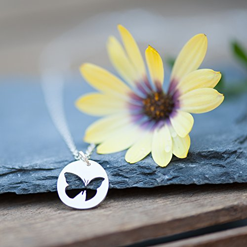 - Sterling Silver Handmade Little Butterfly Necklace
